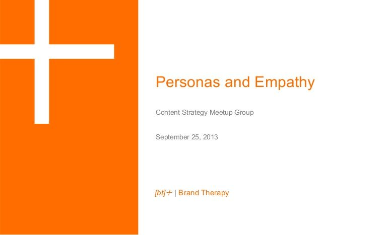 Empathy-Based Personas: Gaining a Deeper Understanding of Your Audi...