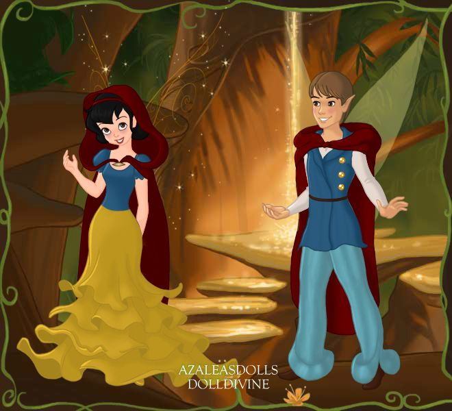 Snow White And Prince Pixie Scene Maker Disney Pictures Scene