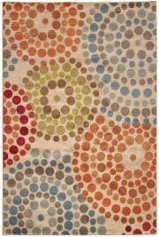 Spiral Mosaic Rug