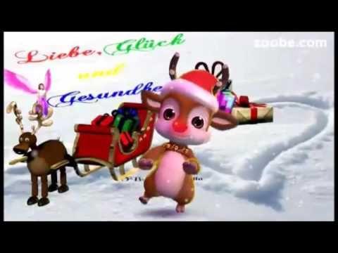 Lustiger weihnachtsspruch rentier