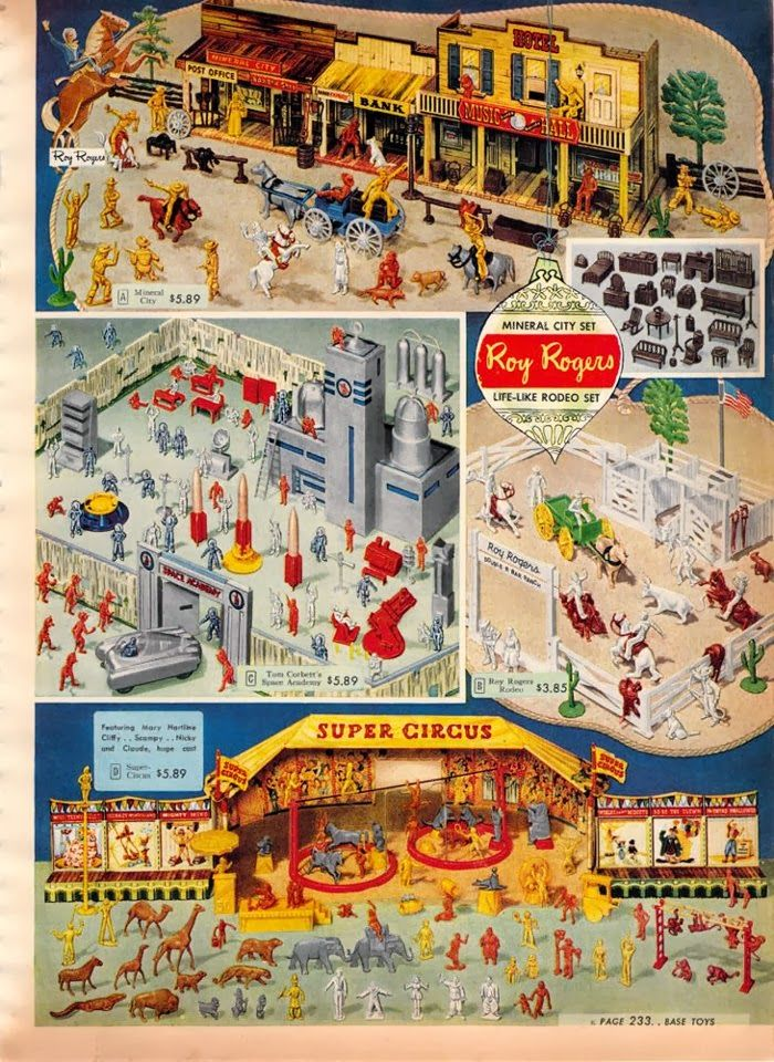 Toys At Sears : Toys in the attic marx playsets sears christmas