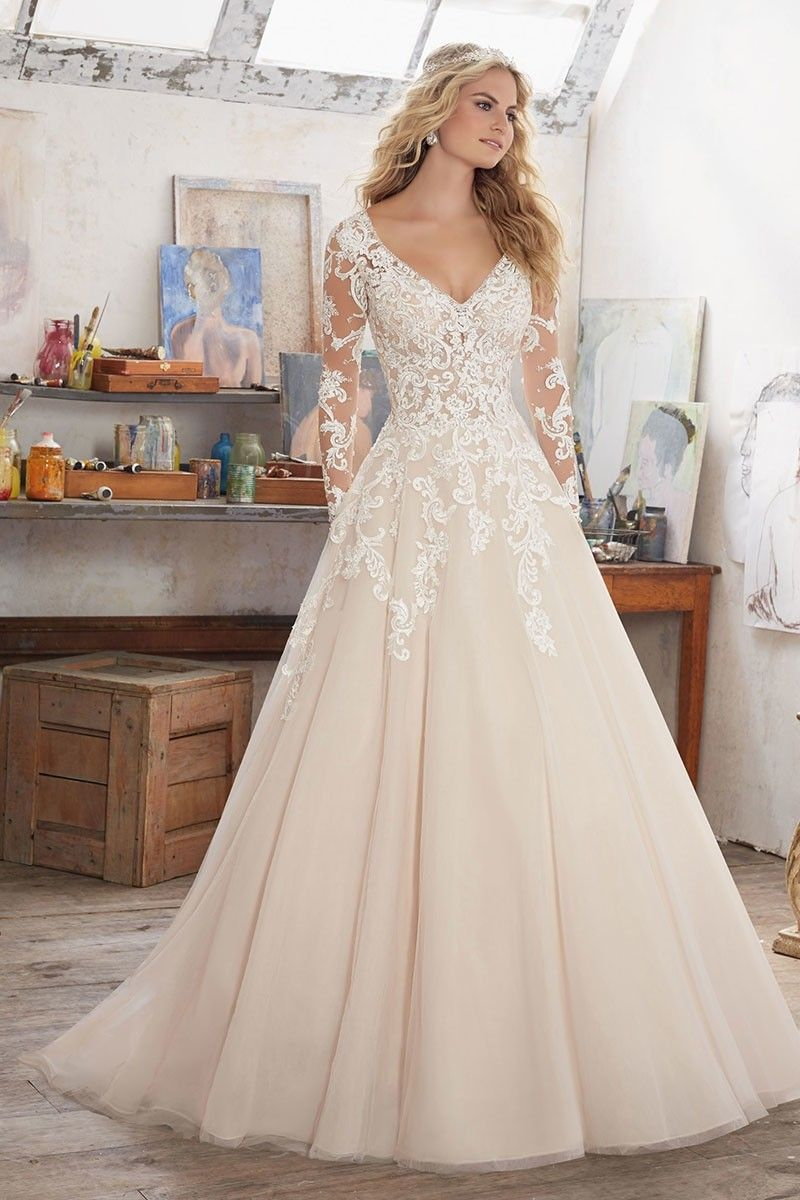 Wedding Dress out of Morilee by Madeline Gardner  - 8110