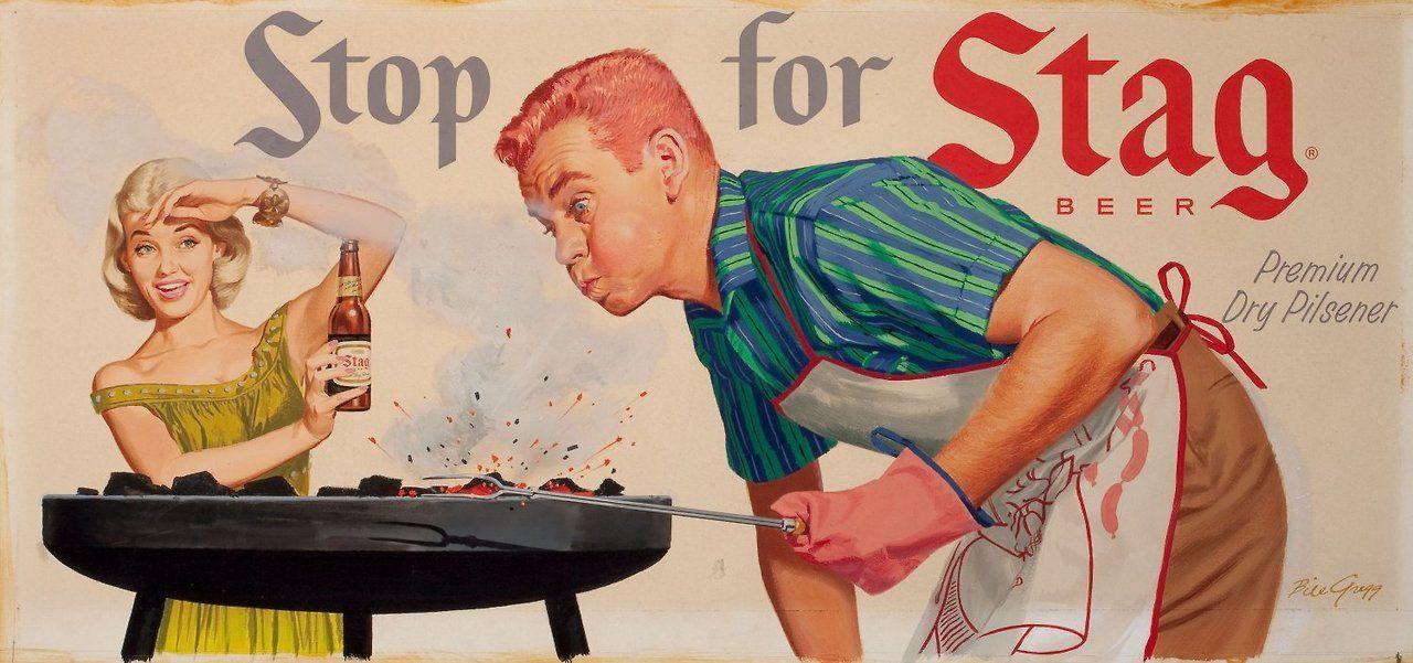 Stop For Stag Beer Stag Beer Vintage Beer Beer