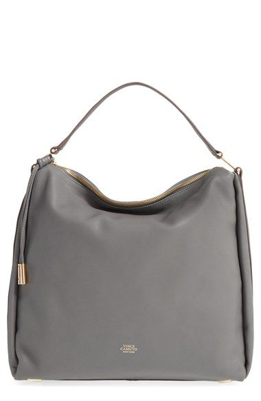 743ae8de8a Vince Camuto  Josie  Leather Hobo available at  Nordstrom