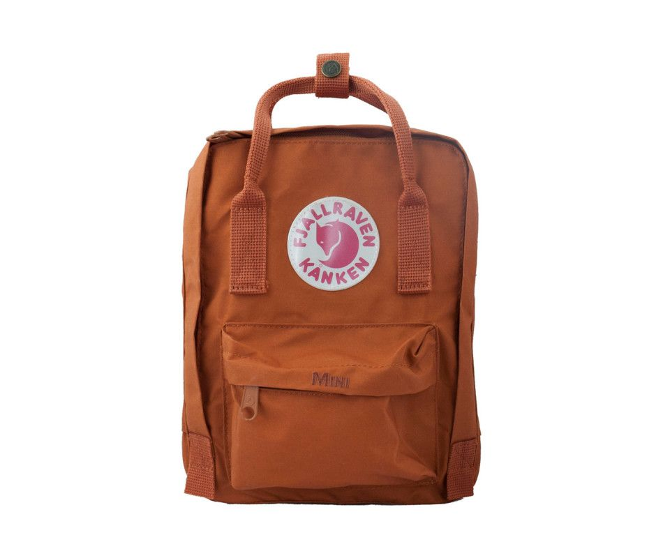 0fb9e815b Fjallraven Kanken Mini Backpack Brick Mini Backpack, Small Backpack,  Everyday Bag, Kids Backpacks