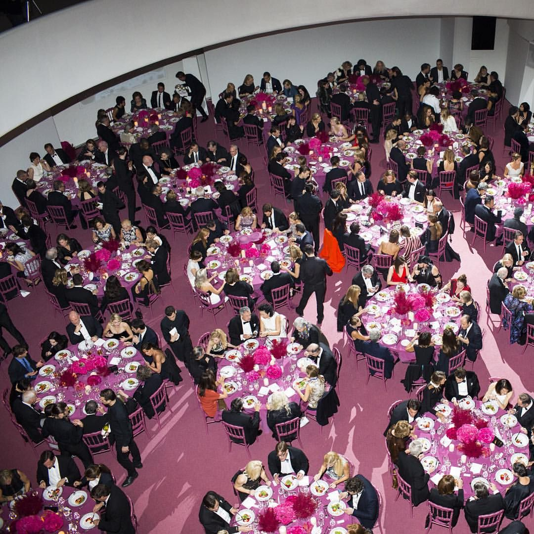 #latergram from yesterday fundraising dinner event inside the rotunda of the iconic Museum. Relive the entire 2015 @Guggenheim International Gala, including the performance by @actuallyGrimes and the preview of the ballet November Steps on DIORMAG.com. #GIG2015