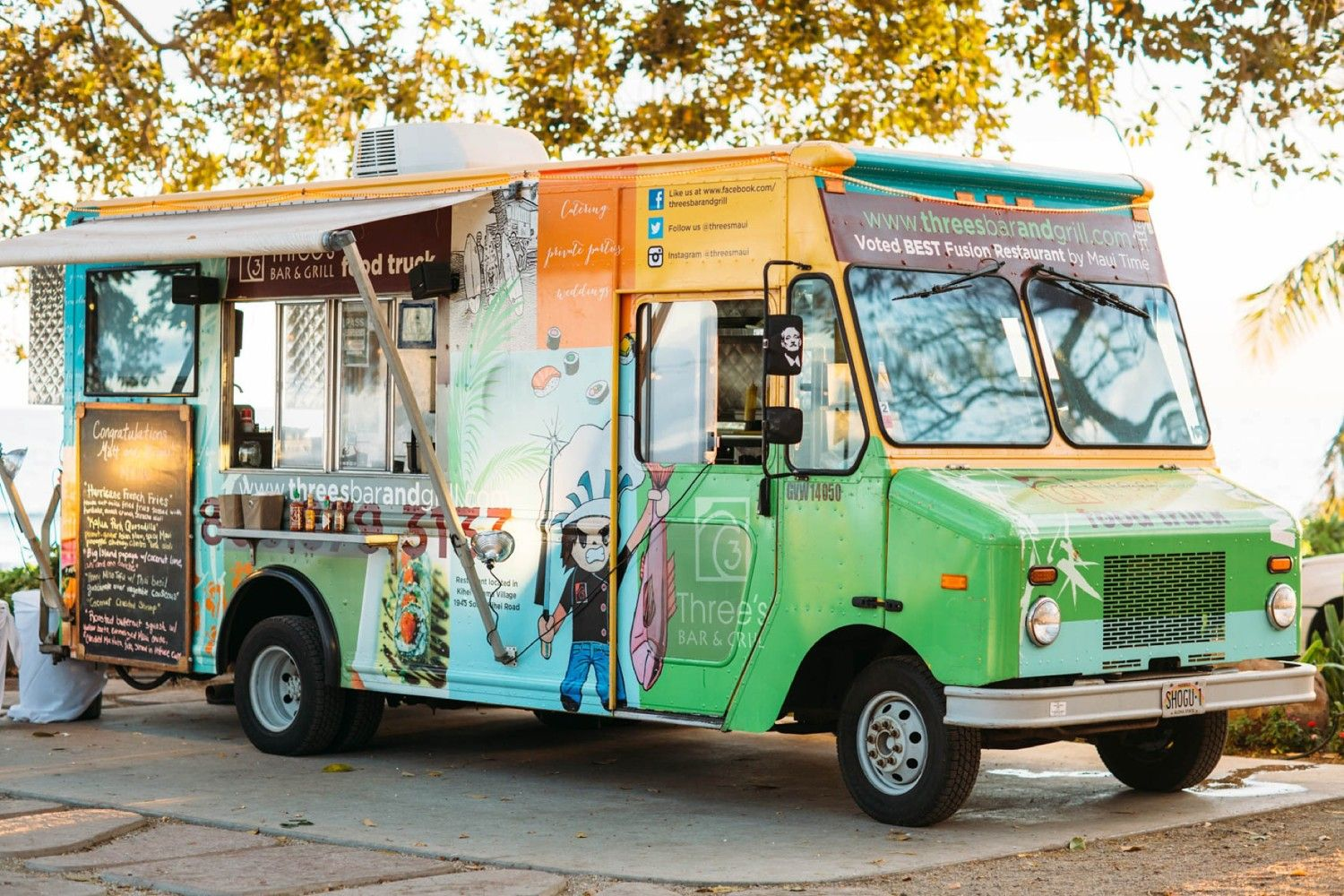 Ditch the Resorts and Eat at South Maui Food Trucks