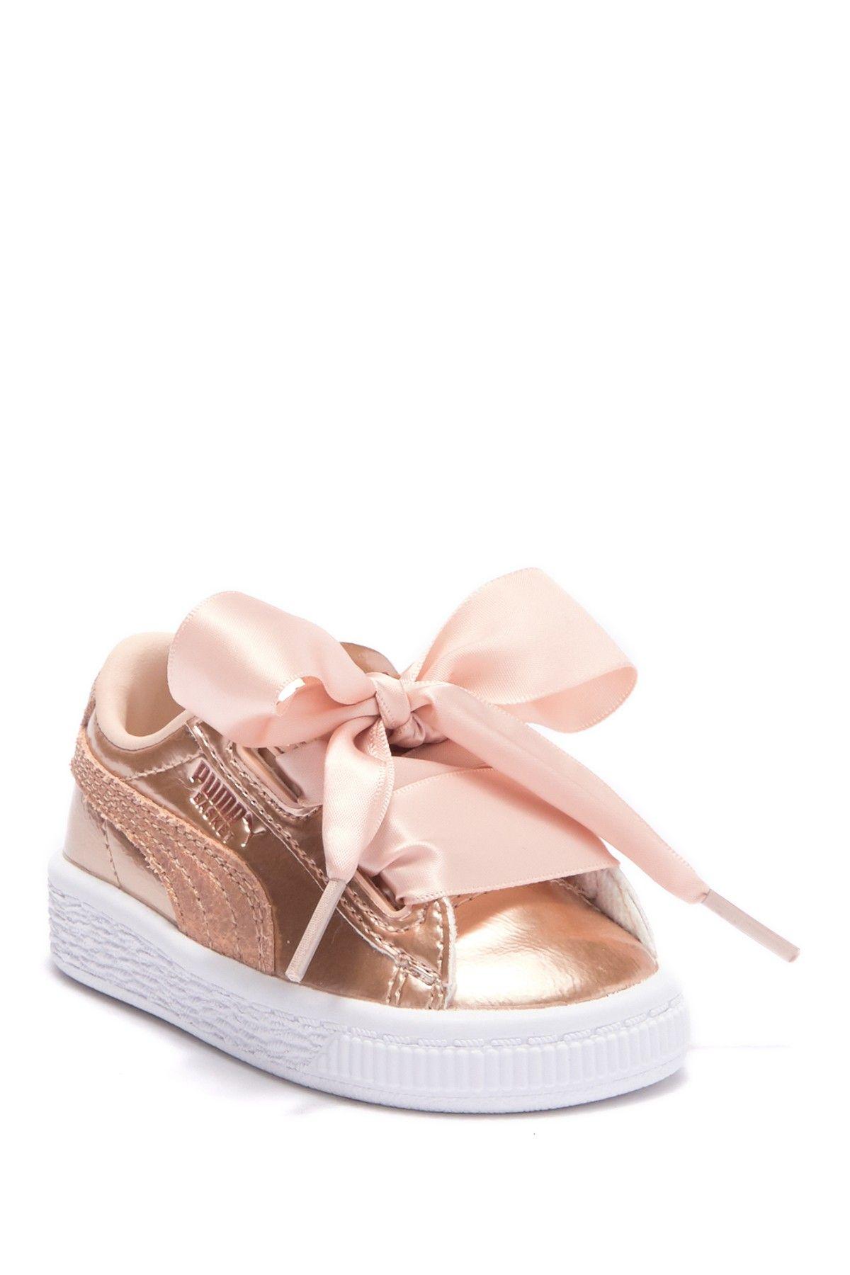 pretty nice 71a01 b5df5 Basket Heart Lunar Lux Sneaker (Toddler) | Products | Puma ...