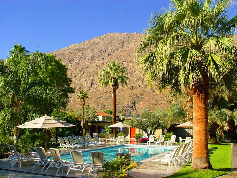 Chase Hotel In Palm Springs Hotels The California