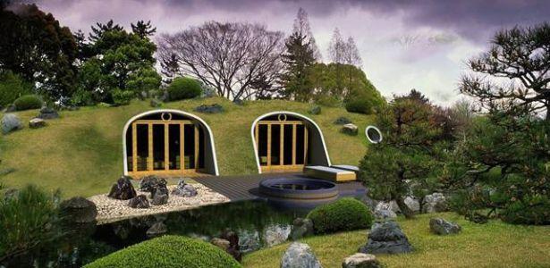 Des modules pr fabriqu s pour maison semi enterr e en colombie architecture verte for Module prefabrique maison