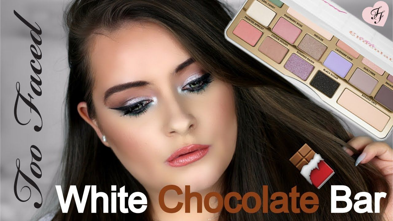 New Too Faced White Chocolate Bar Palette Tutorial Review 2017