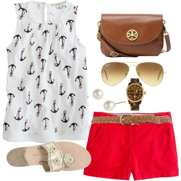 Nautical by classically-preppy on Polyvore