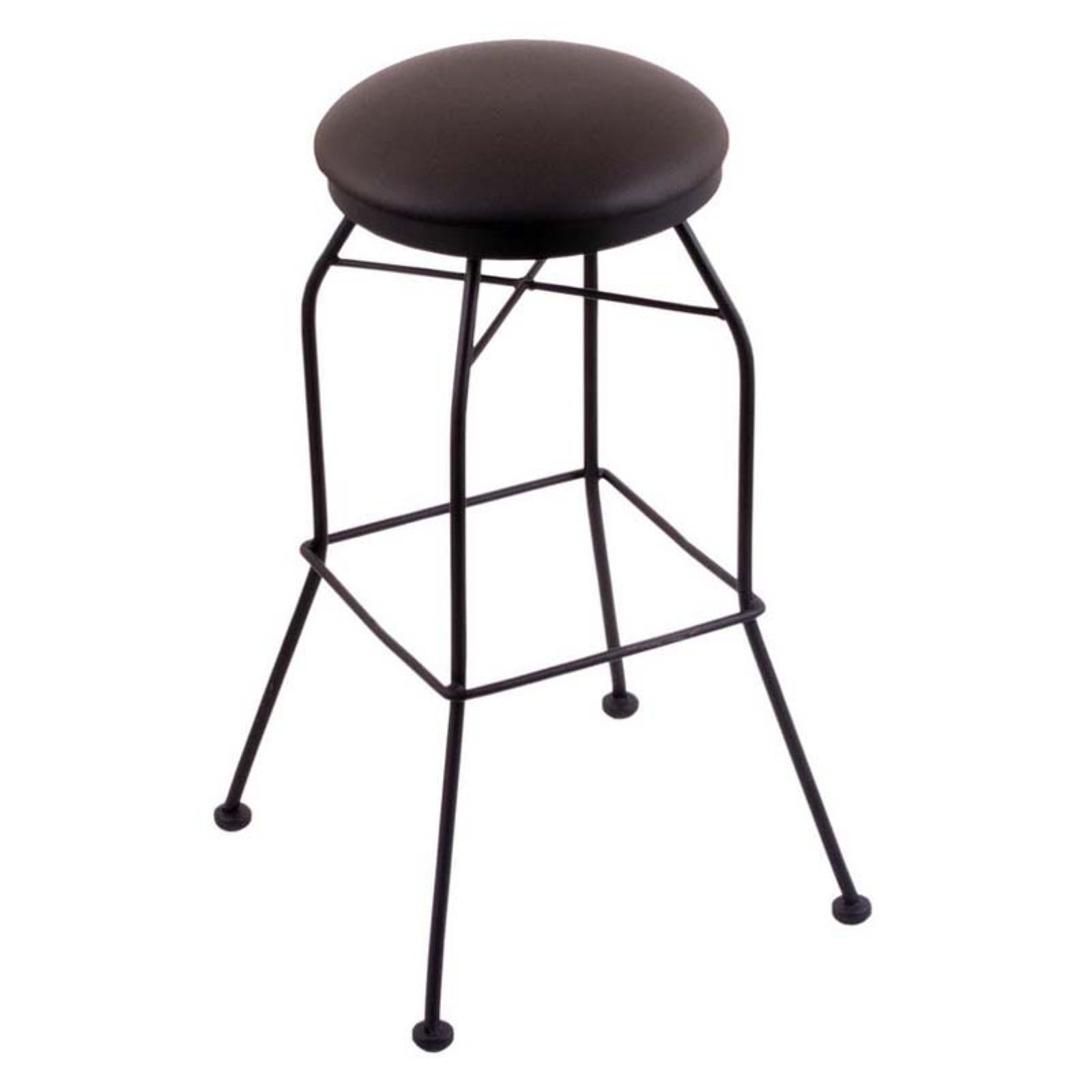 Peachy Holland Bar Stool 30 In Backless Swivel Bar Stool With Faux Squirreltailoven Fun Painted Chair Ideas Images Squirreltailovenorg