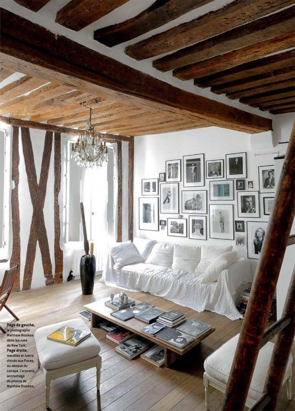 L\u0027agence Festen sublime l\u0027ancien Living rooms, Interiors and Room