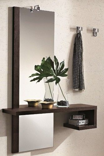 Consolle Sospese Moderne.Mobile Con Specchio Moderno Consolle Ingresso Entrata Camera