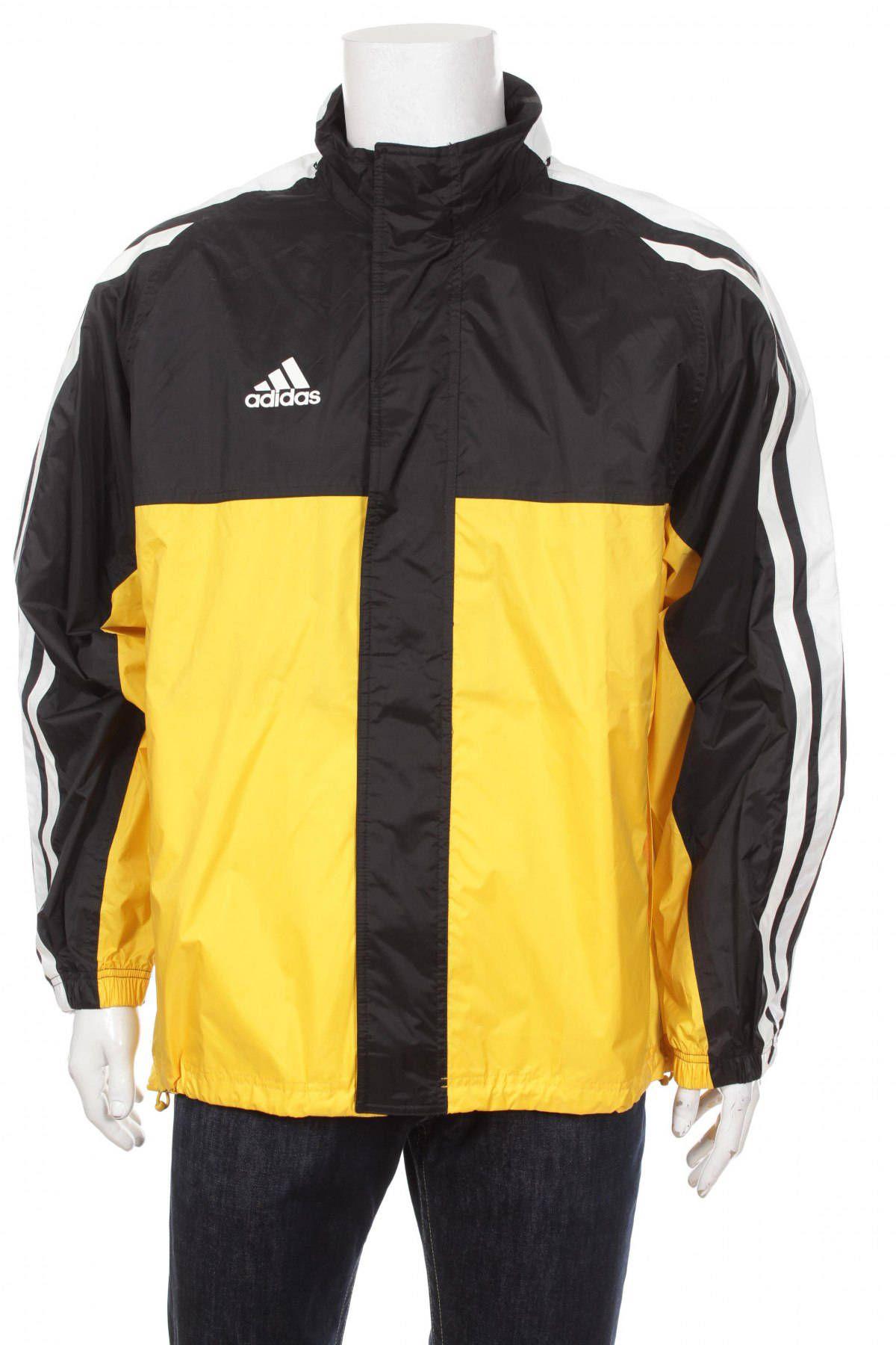 on Hidden by Black Hood Etsy Adidas VapeoVintage 90s Top Vintage Size Yellow jacket Tracksuit Windbreaker White M Zw1xOY
