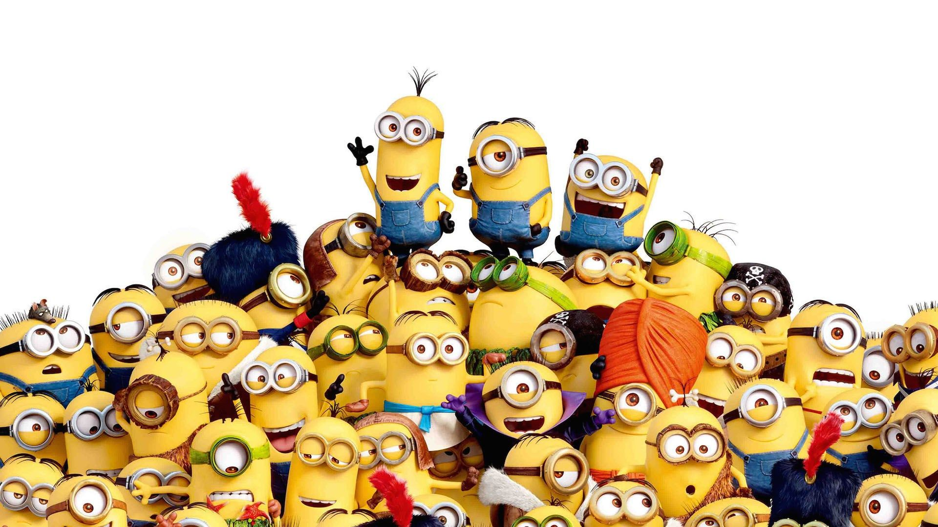 1920x1080 Free Desktop Wallpaper Downloads Minions