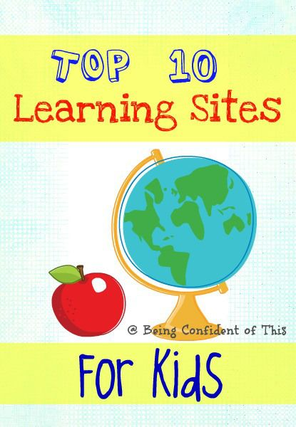 Top Ten Educational Websites For Kids Awesome Summer Fun 101