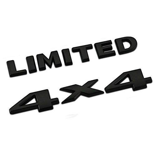 2PCS Kits Chrome GRAND CHEROKEE 3D Letters Emblems Nameplate Jeep Badge