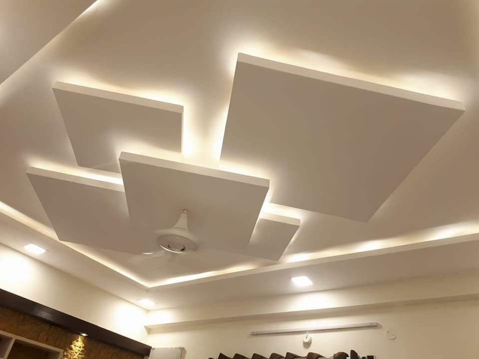 Plafon Salon Ceiling Design Living Room House Ceiling Design