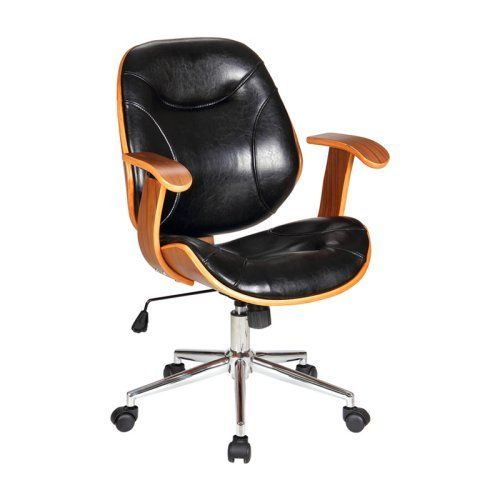 Black Office Chair, Brown Office