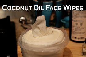 MeganMeCrafty: Coconut Oil Face Wipes - Easy Step By Step