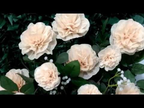 Aula 2 Como Fazer Arranjos Com Flores De Papel Crepom
