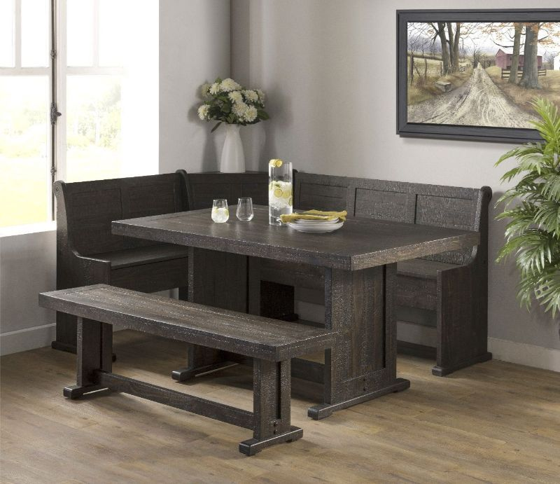 Vh 1840 5 Pc Gracie Oaks Merlinda Grey Distressed Finish Wood