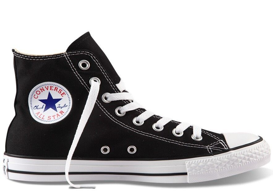 Original Converse all star shoes men womens sneakers canvas shoes all black  high classic Skateboarding Shoes