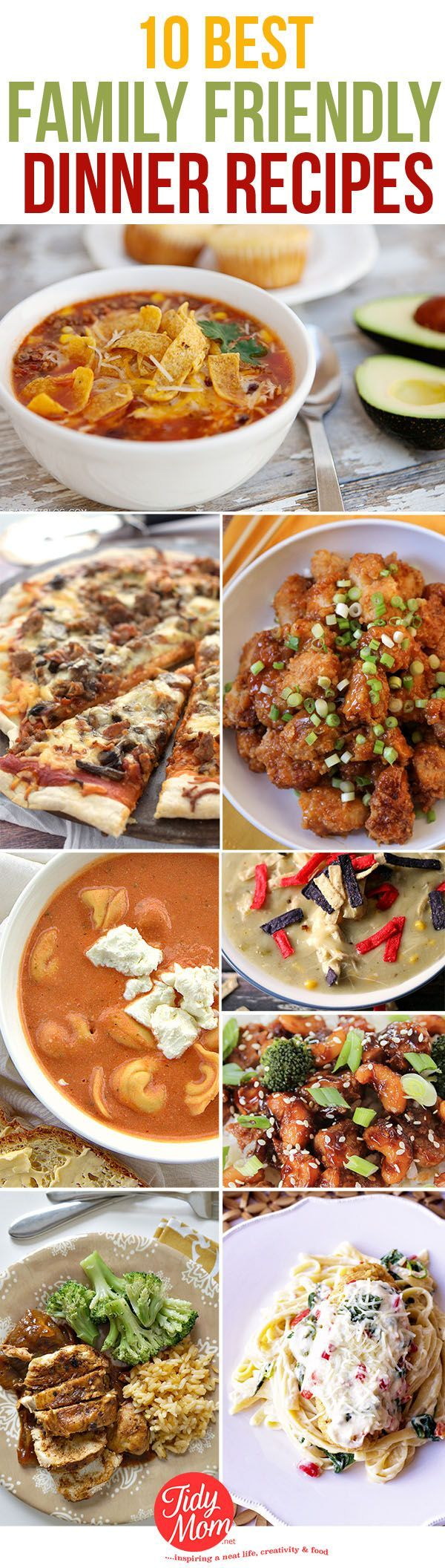 Please The Whole Family With These Easy Weeknight Meals Everyone Will Love 10 Dinner