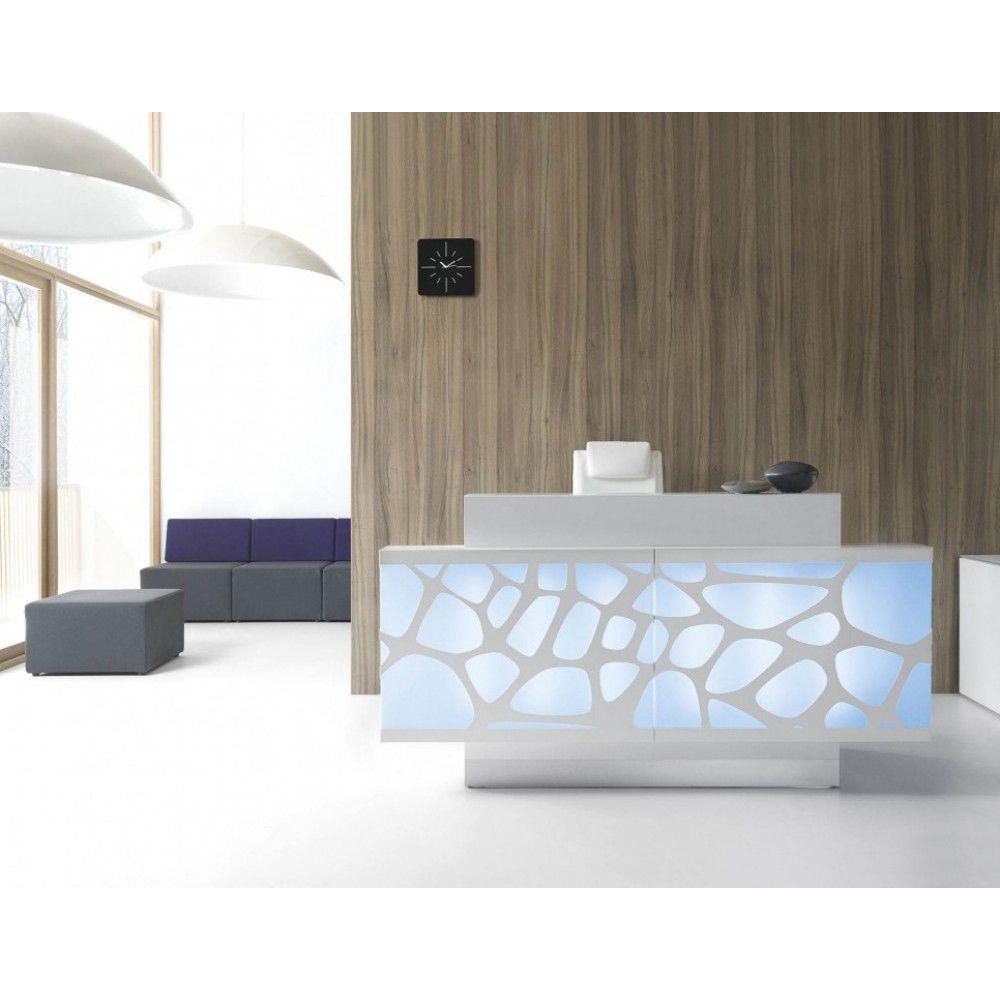 Organic Linear Shape Reception Desk The Irregular Design Of The Modern Organic Reception Desk