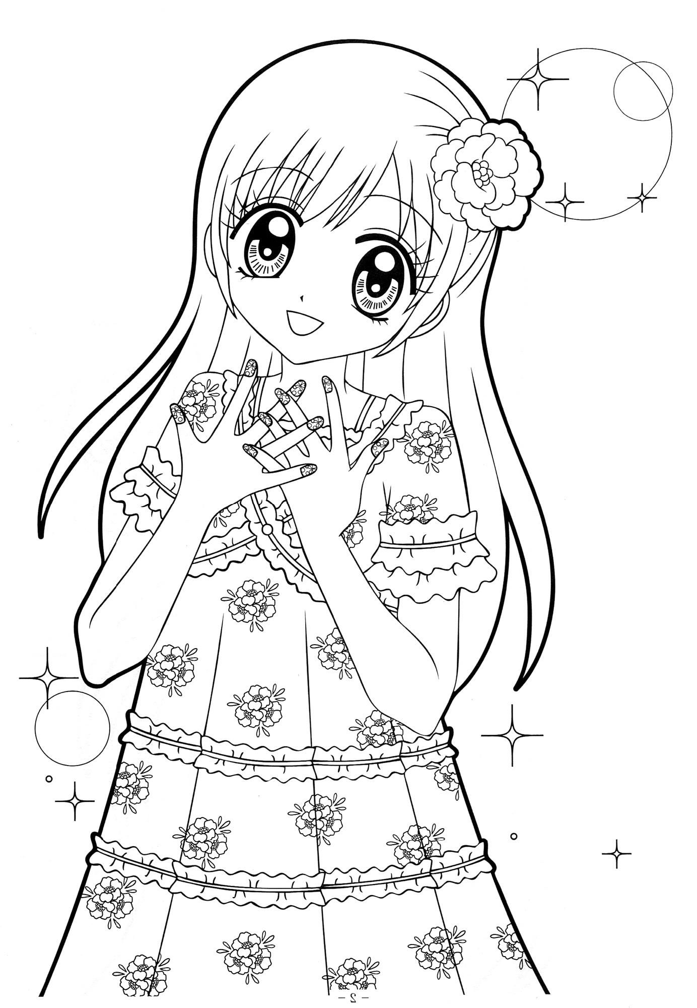 Awesome Coloring Pages To Print Anime That You Must Know
