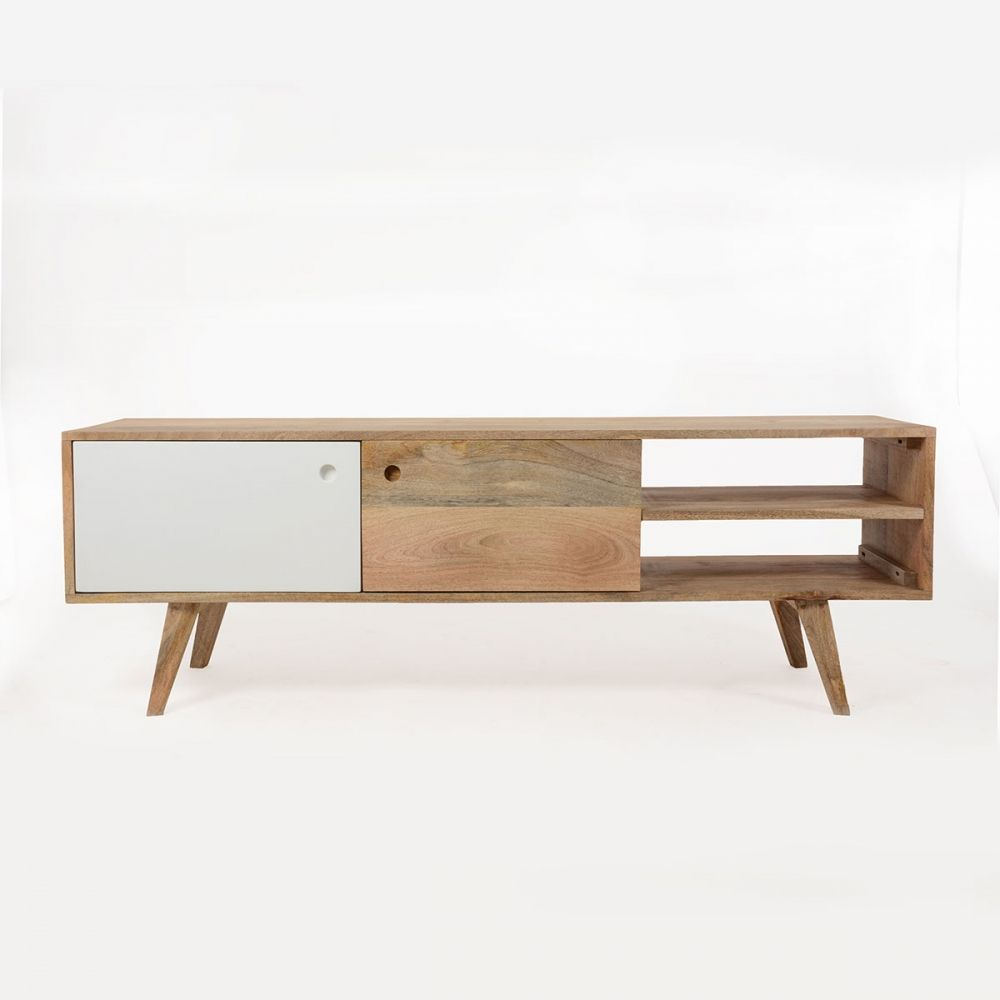 meuble tv scandinave en bois artiq - Meuble Tv Vintage Andersen