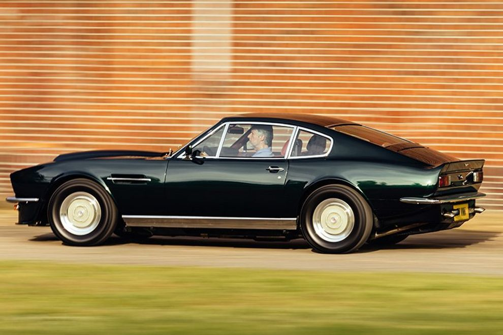 How The Original Aston Martin V8 Vantage Toppled The Supercar Tree Article Selected By Artebellum Aston Martin V8 Aston Martin Aston
