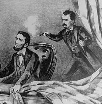 John Wilkes Booth Killed Abraham Lincoln On April 14 1865