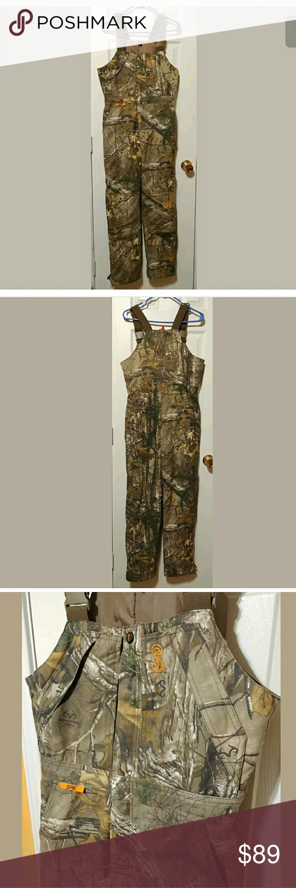 sold she outdoor insulated camo bib overalls s with on womens insulated bib overalls id=75949