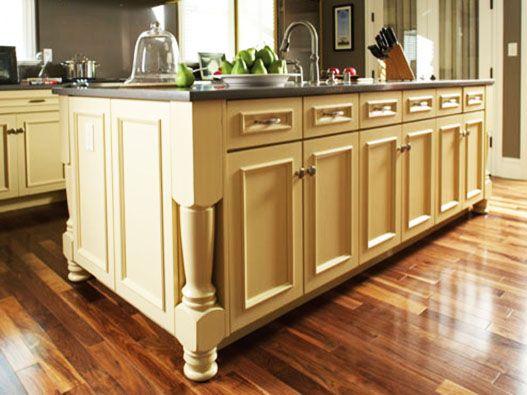 Kitchen Island Cabinets Cream Color