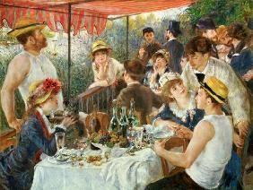 Pierre-Auguste Renoir - El desayuno de los remeros