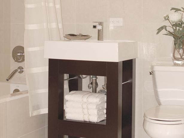 Digital Art Gallery Small vanity for small bathroom space