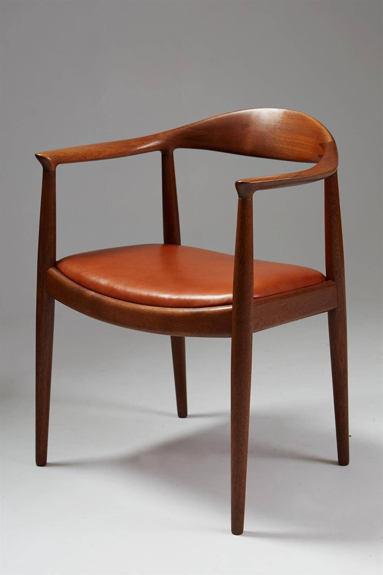 The Chair Designed By Hans Wegner For Johannes Hansen Denmark