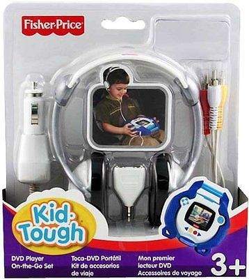 Kid Tough 158743: Fisher-Price Kid-Tough Dvd Player On-The-Go Kit -> BUY IT NOW ONLY: $106.24 on eBay!