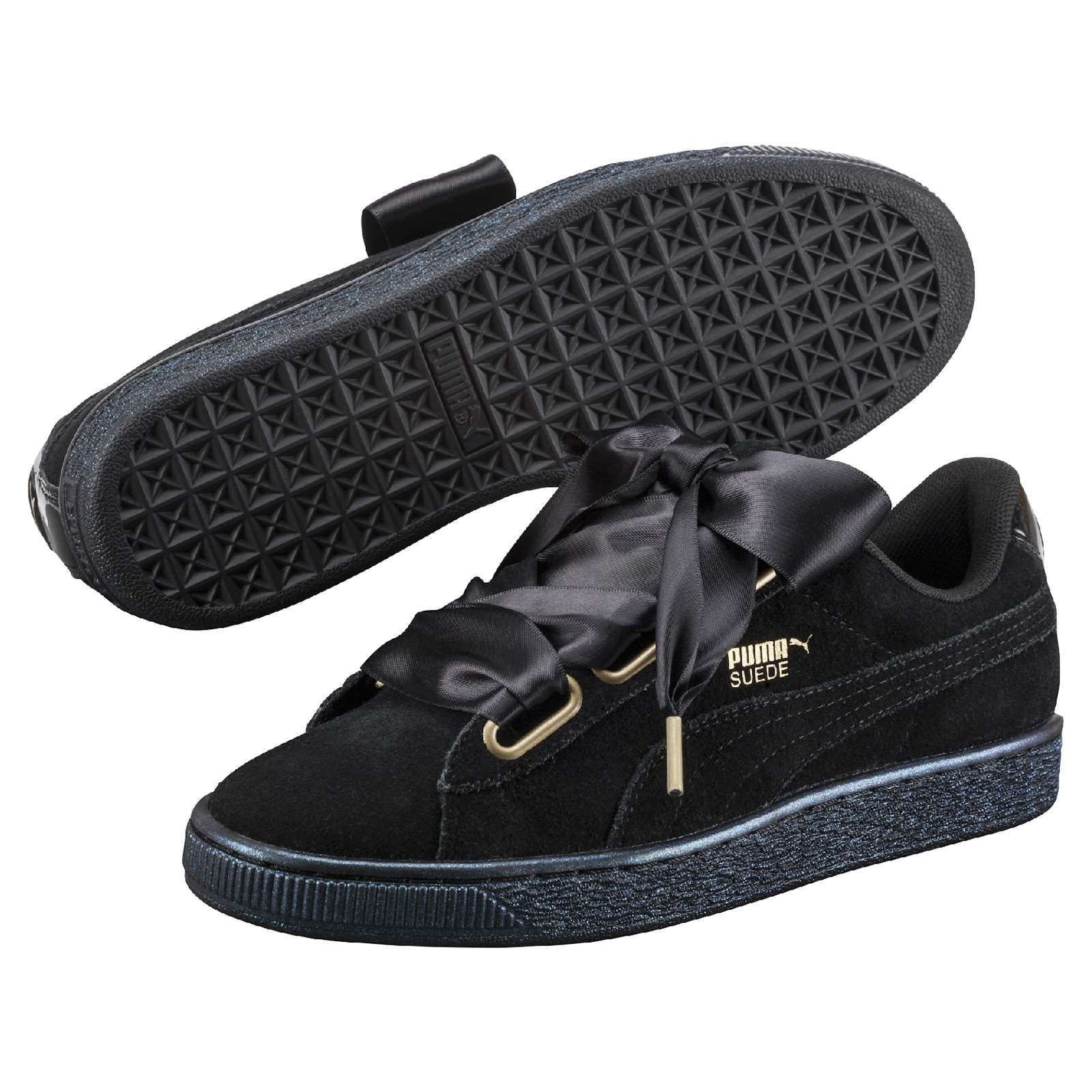 puma suede heart ep sneakers basses femme