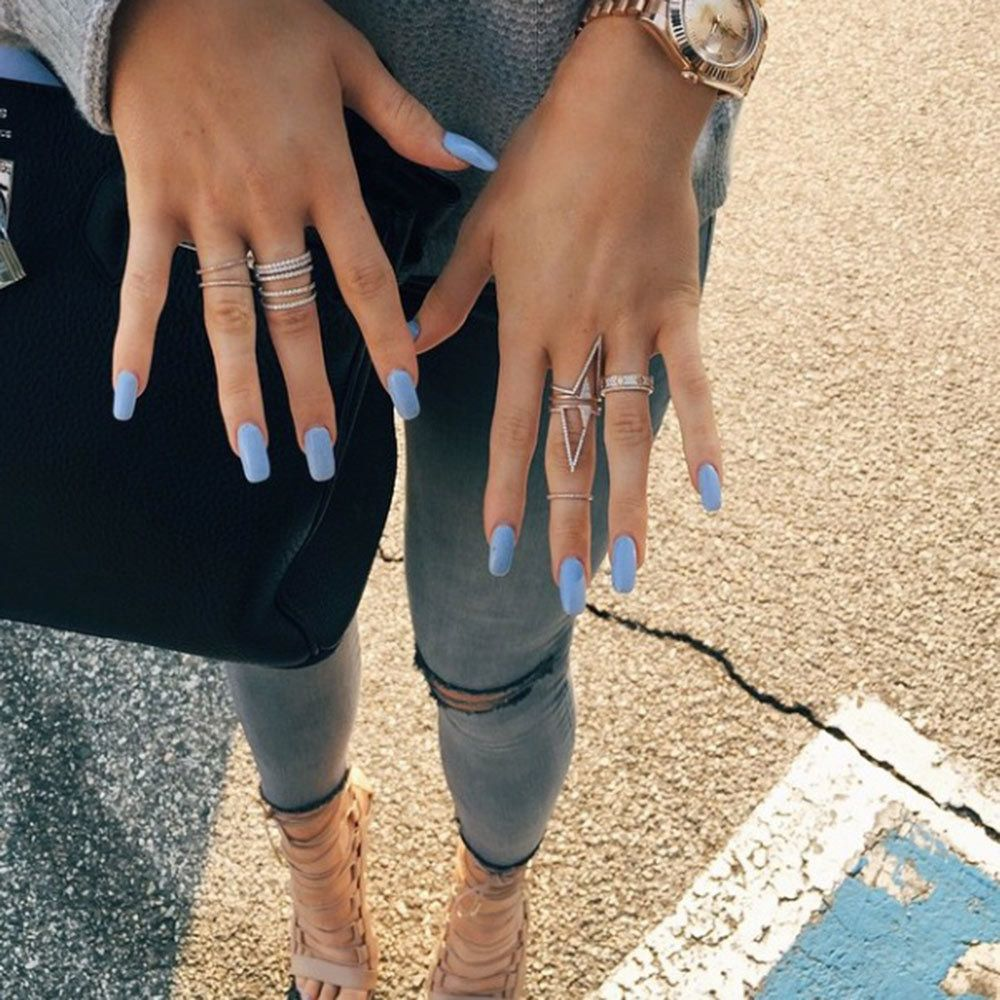 Blake Lively\'s Met Gala Mani Had More Crystals Than Her Versace Gown