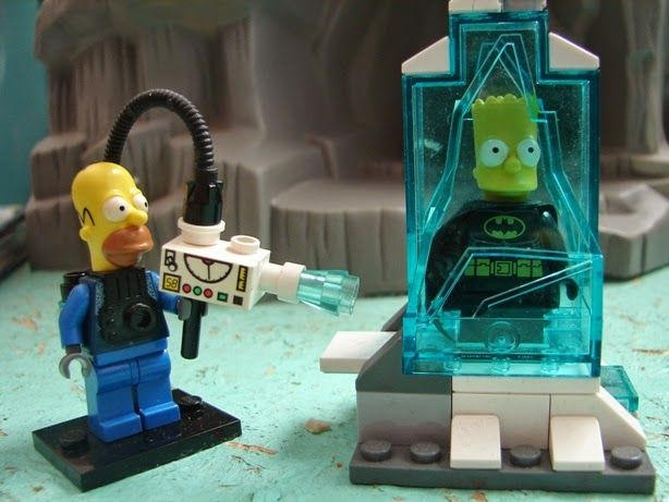 Mr. Homer Freezeman and Bartman