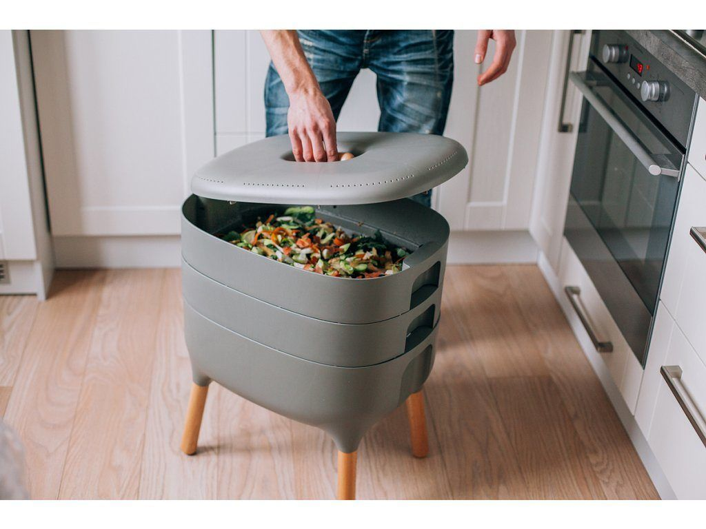 Urbalive Worm Farm Indoor Composter Helps You Avoid Unnecessary