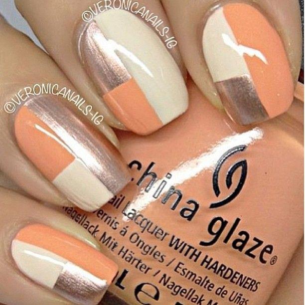 Graphic Silver Wihte Light Orange Design With Images Geometric