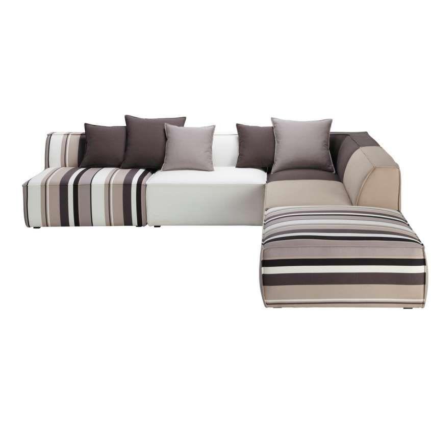 Divani angolari per la casa house design striped sofa for Mobili sala angolari
