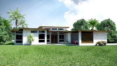 Plan 31186d 3 Bed Modern Ranch House Plan Modern Ranch Modern House Plans Ranch House Plan