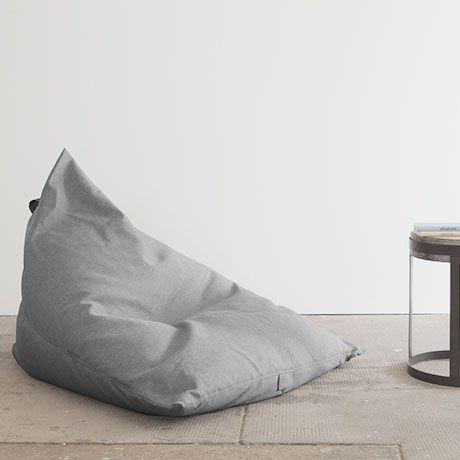 Monoqi Razz Bean Bag Grey Decor Design Bean Bag Chair Decor