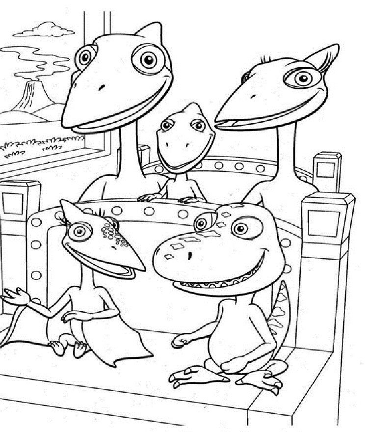 Dinosaur Train Coloring Pages Printable Train Coloring Pages Dinosaur Coloring Pages Dinosaur Train
